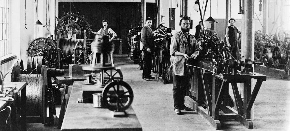 Немцы как рабочий класс США