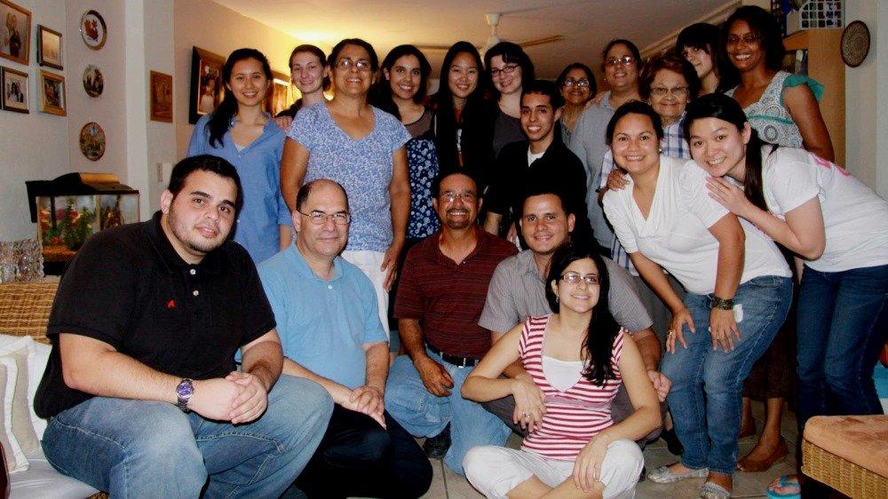 Семья пуэрториканских иммигрантов