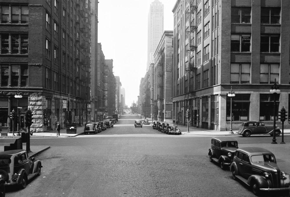 история Чикаго, старое фото