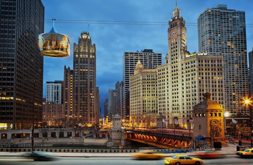 город Чикаго в XXI веке