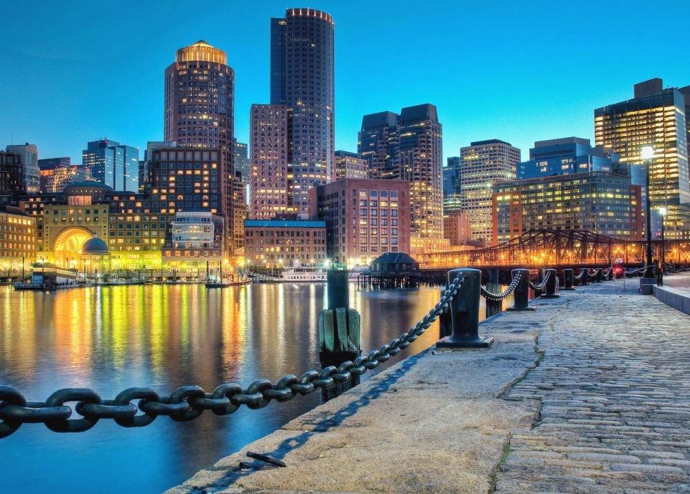 климат и погода в Бостоне по месяцам